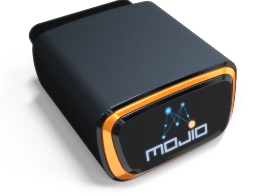 Insert the Mojio accessory into your vehicle and use