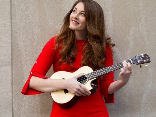 Mandy Harvey sings at 7 p.m. at the Monroe Civic Center.