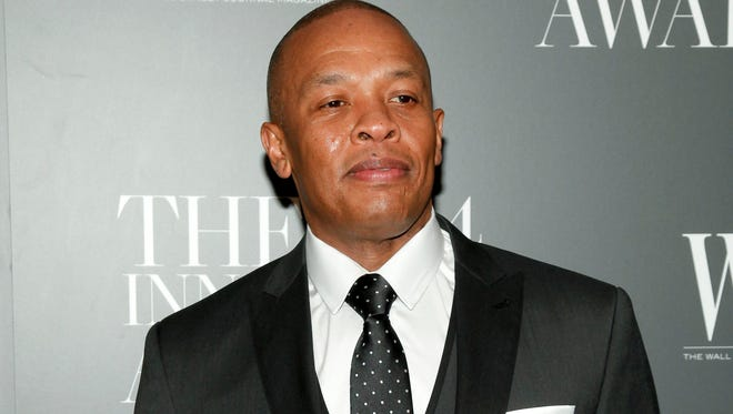 Dr. Dre attends the WSJ. Magazine 2014 Innovator Awards at MoMA in New York on Nov. 5, 2014. The rapper/producer announced a new album, 'Compton,' out Aug. 7.