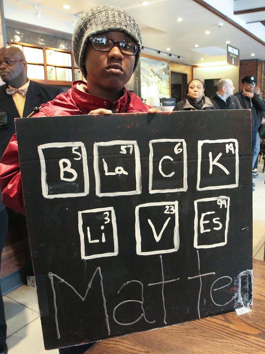 Starbucks CEO in Philadelphia as protests resume at shop where two black men were arrested