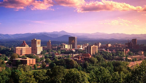 Asheville is one of the best places for a first date, say dating experts.