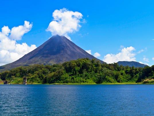 Arenal Volcano and Lake