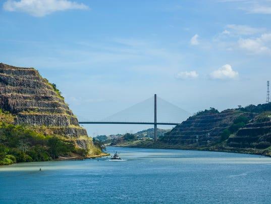 Centennial Bridge, Panama Canal