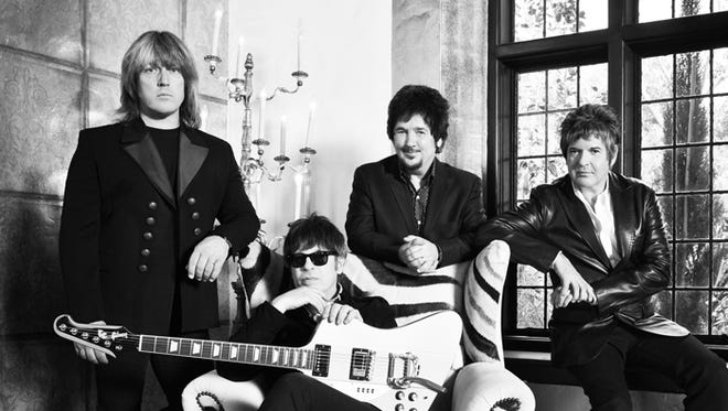 The Empty Hearts, from left: Andy Babiuk, Elliot Easton, Wally Palmer and Clem Burke.