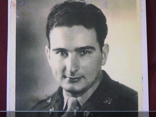 During combat in North Korea, Emanuel Carlo fell off