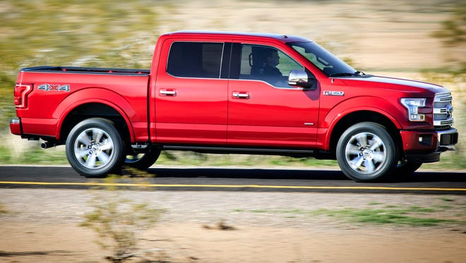 Ford's F-150 pickup has up to five cameras