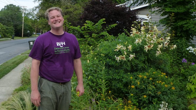 Chad Nelson is a Newark native and landscape architect.