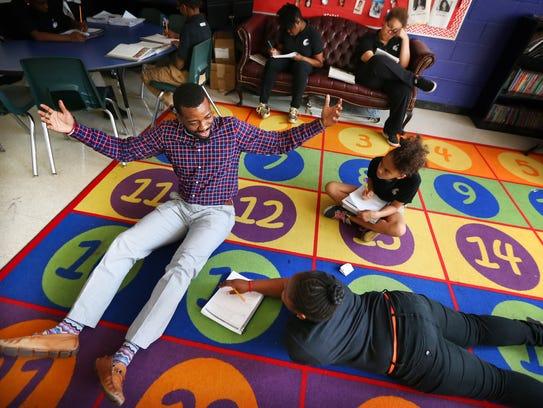 Aspire Coleman Elementary School sixth-grade humanities