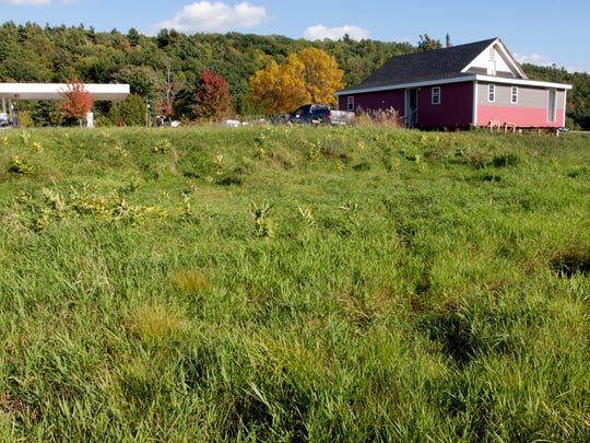 St. George, the town with the smallest geographic footprint in Vermont, has big plans for a town center. A renovated one-room schoolhouse was recently moved to the town center and a developer has proposed a housing and commercial project nearby.