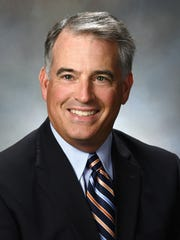 Mike DiStefano, Knoxville president for Pinnacle Financial Services. DiStefano is a winner of a 2018 Top Workplaces leadership award.