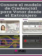An Example of how the Mexican voter ID card will look like