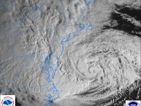 Hurricane Sandy on Oct. 29, 2012
