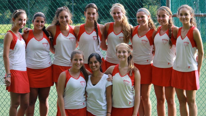 Ocean Township moved up in the APP Top 10 Tennis Poll.