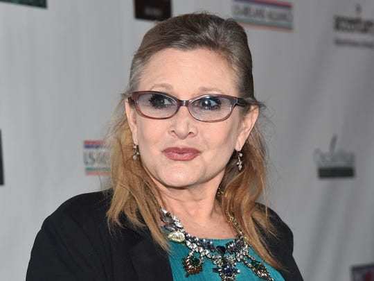 Carrie Fisher will meet and greet fans March 14-15 at the Indiana Convention Center.