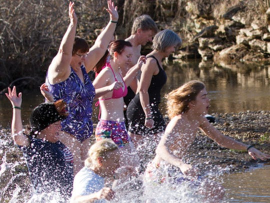 Enjoy super cool adventure with the Polar Plunge on