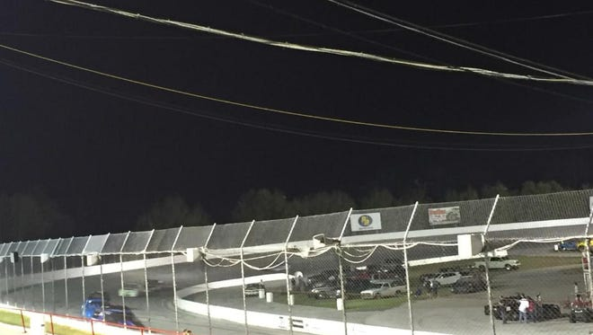 Racing at Five Flags Speedway in Pensacola.