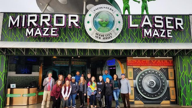 You can have double the fun with Encounters Ocean City's Mirror Maze and Laser Maze.