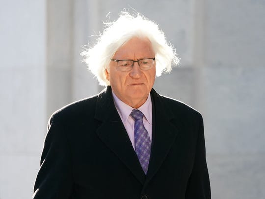 Tom Mesereau, Bill Cosby's attorney, arrives at the