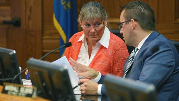 Sioux Falls city council member Theresa Stehly has