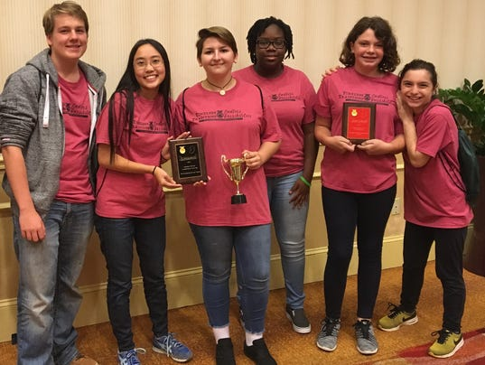 SCVTHS FFA student take part in leadership training conference