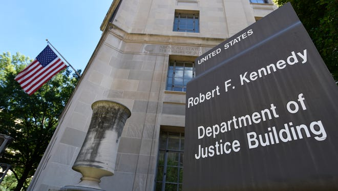 The Justice Department in Washington