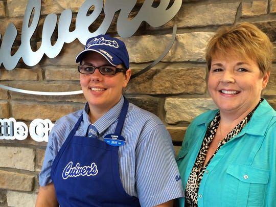 Maggie Kauer and Glenda Woosley are co-owners of the new Culver's in Little Chute.