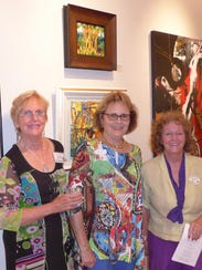 From left, Christine Trevethan, Billye Miralgia, and