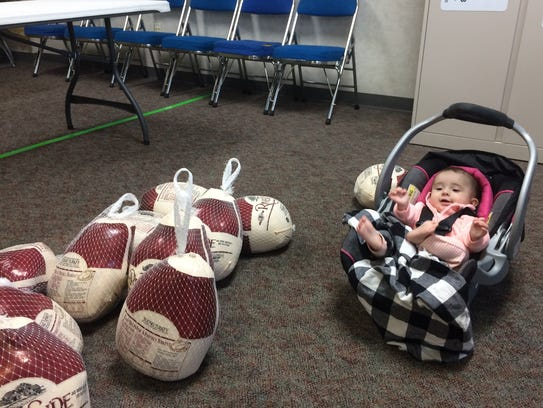 """""""The baby was guarding the turkeys,"""" Sheila Potter"""