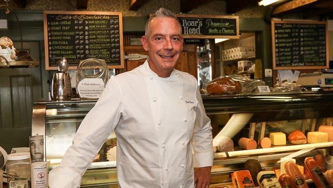 Chef Scott Cutaneo, current owner of the iconic Oldwick General Store and its newest dinner arm, 57 Main, which opened in December 2015.  Keith A. Muccilli/ Correspondent
