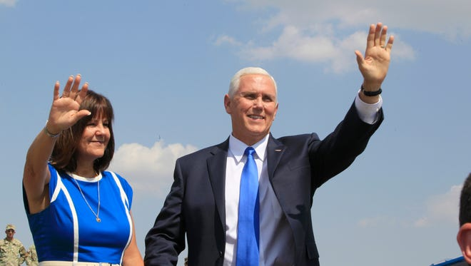 Vice President Mike Pence and his wife Karen will lead the U.S. Olympic delegation.