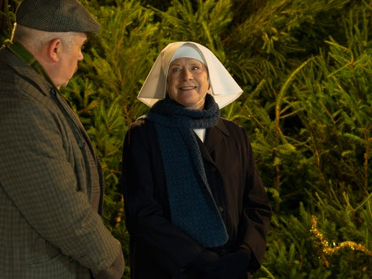 """Cliff Parisi and Judy Parfitt  star in the """"Call the Midwife Holiday Special"""""""