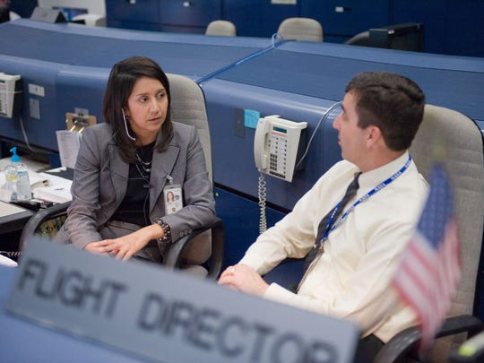 Flight Director Ginger Kerrick is one of NASA's key leaders as the Flight Operations Directorate assistant director for the International Space Station at Johnson Space Center in Houston. She has, to date, supported 13 ISS missions and five joint shuttle missions. Kerrick is a native El Pasoan.