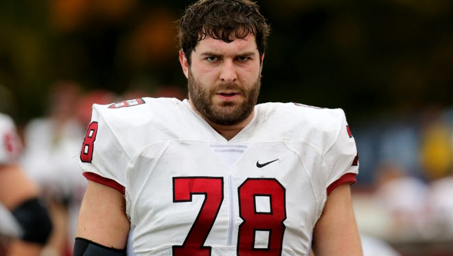 Harvard tackle Cole Toner, a Greenwood native, isn't opposed to landing with his hometown team in the coming NFL Draft.
