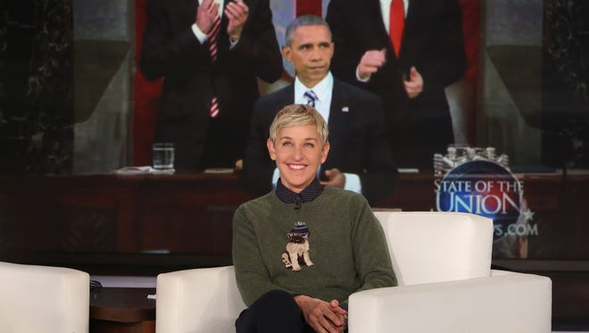 Ellen DeGeneres says so long to No. 44.