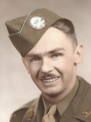 Daniel McBride in World War II.