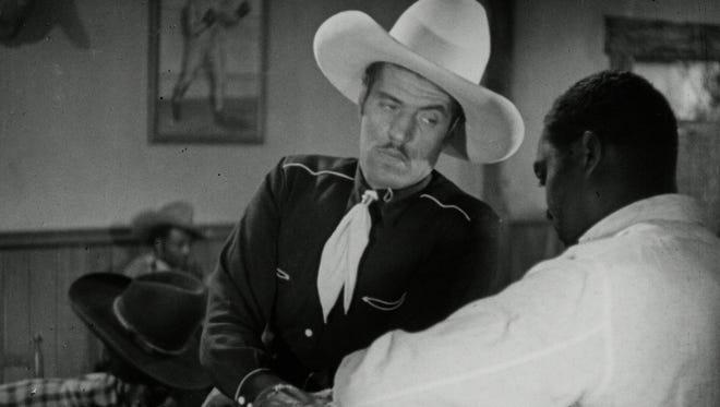 """Herb Jeffries in """"The Bronze Buckaroo."""""""