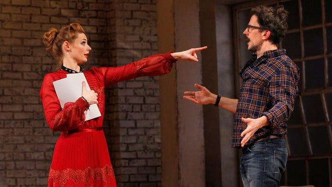 Gillian Williams and Michael Tisdale in the Arizona Theatre Company production 'Venus in Fur.'