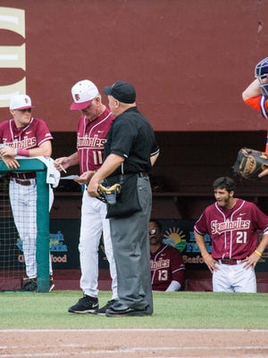 The Florida State Seminoles lost an early lead to the Clemson Tigers, which cost them the game with a score of 4-1 at Mike Martin Field in Tallahassee, FL on Thurs., May 14.
