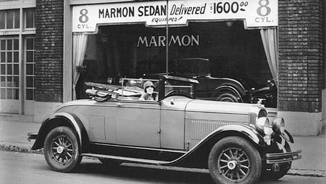 The Marmon 1920 roadster.