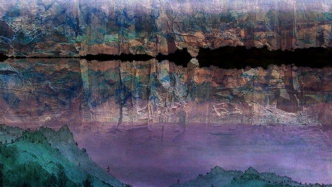 """Ridge Runner,"" digital collage by Tim Hengst"