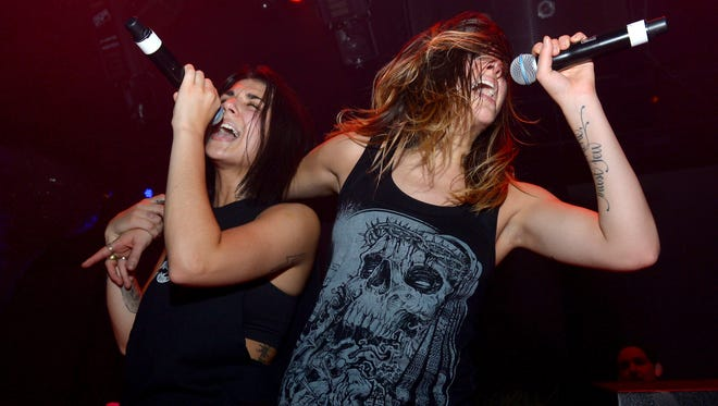 Krewella's Yasmine and Jahan Yousaf are one of the more prolific female acts at this year's EDM festivals.