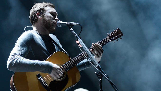 Singer-songwriter Phillip Phillips performs at Barclays Center of Brooklyn on Dec. 17, 2013, in New York City.