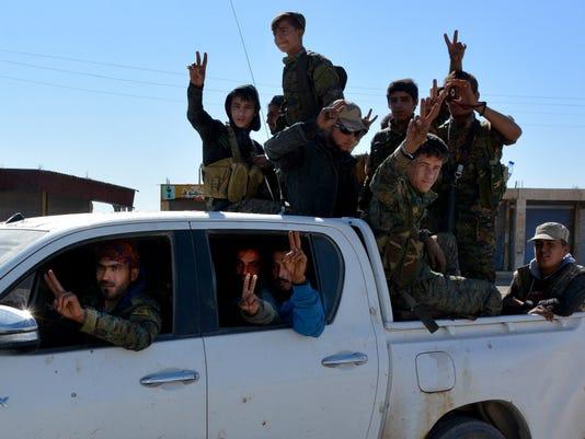 EPA SYRIA RAQQA CONFLICT WAR WAR SYR SY