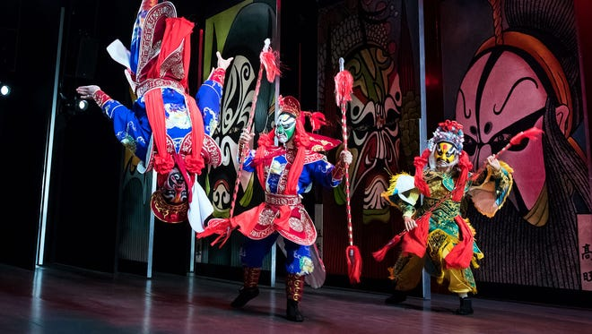 M. Butterfly is on stage at the Cort Theater.
