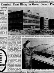 A 1951 Asbury Park Press story describes the construction