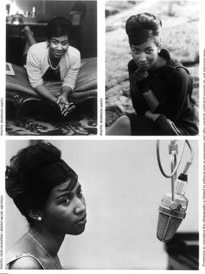 "Aretha Franklin from the ""The Queen in Waiting (The"