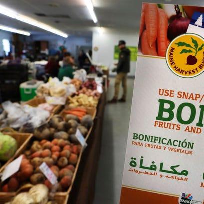 Let food stamp recipients eat socialism