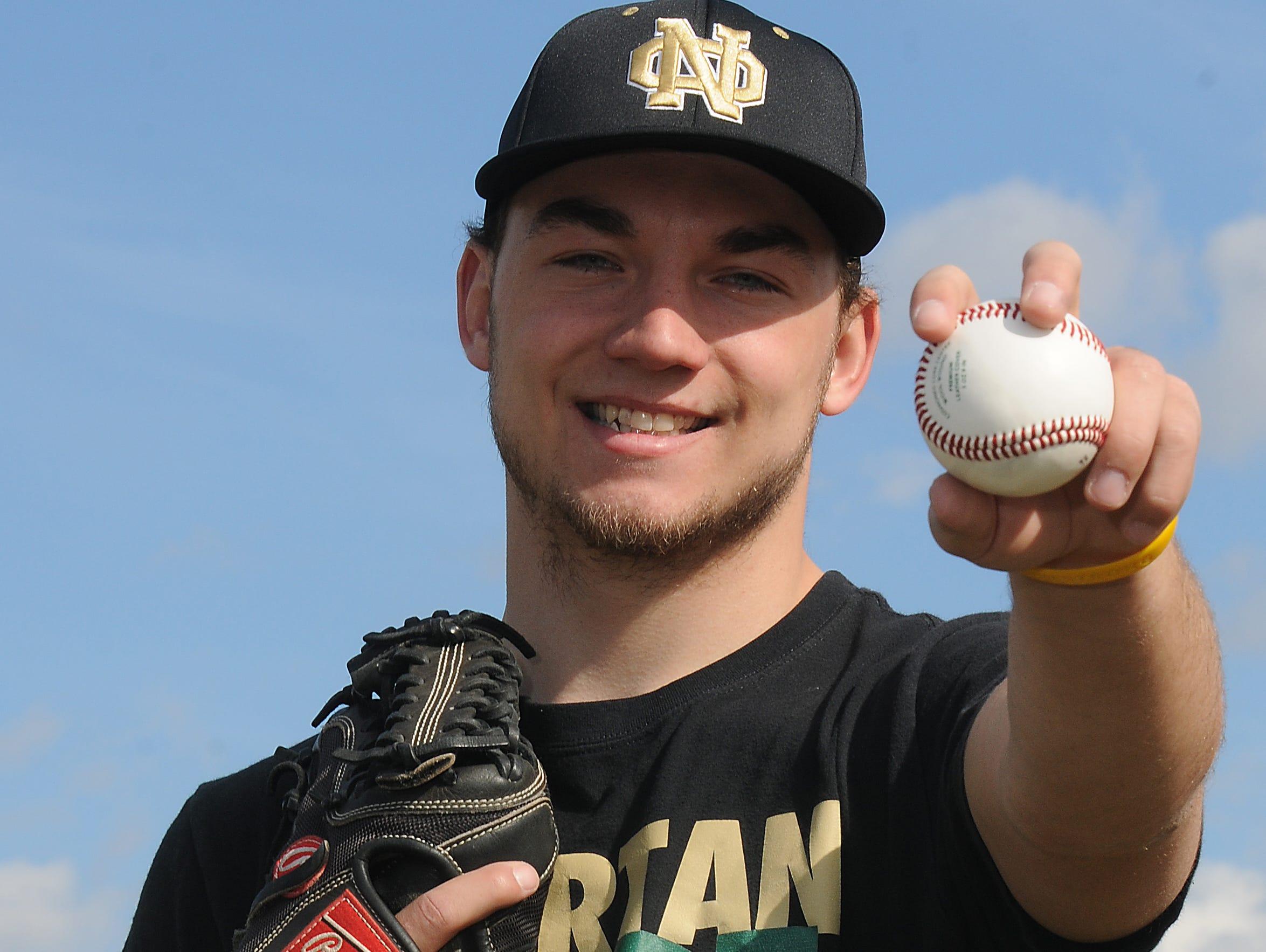 Oshkosh North's Alex Hintze will be attending the University of Connecticut on a baseball scholarship next fall.