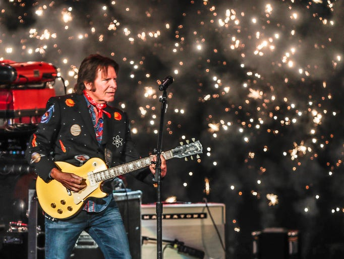 John Fogerty performs during a tour stop for the WJJK