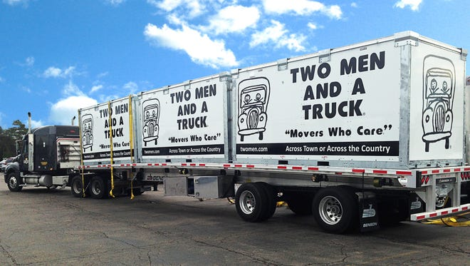 Two Men and a Truck has expanded its service to Wales. It is now in five countries.
